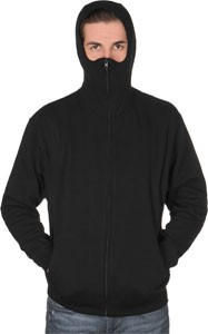 Stylefile Graffiti Supply Ninja Hooded Zipper