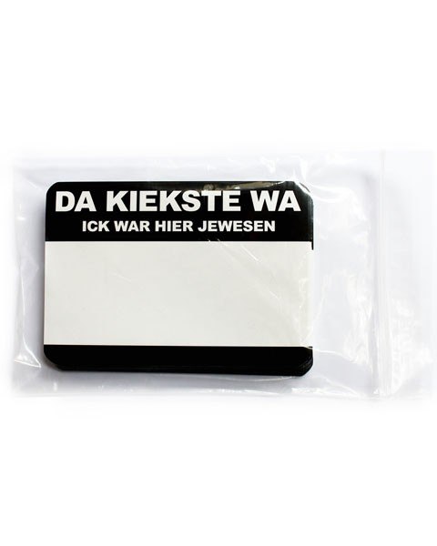 Da Kiekste Wa Sticker
