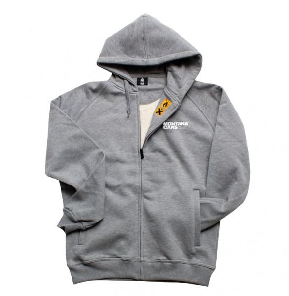 Montana Zip Hoodie Grey