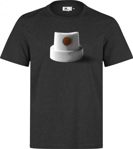 Eight Miles High Orange Fatcap T-Shirt