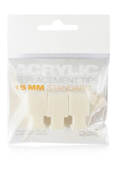 Montana Acrylic Tip Set 15mm Standard