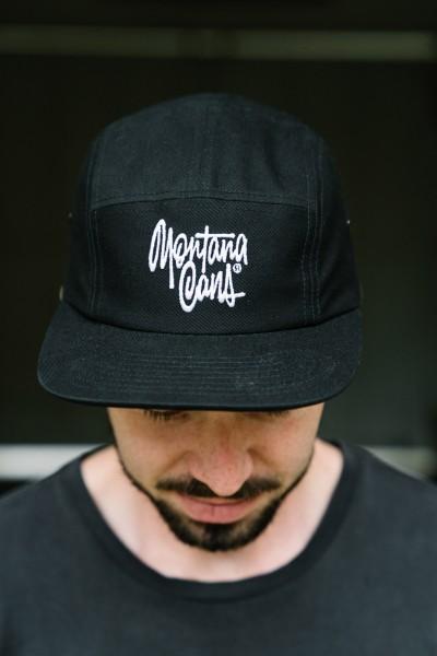 Montana 5-Panel Cap Shapiro Tag Black