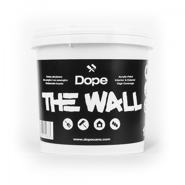 Dope the Wall Paint Black 1Liter