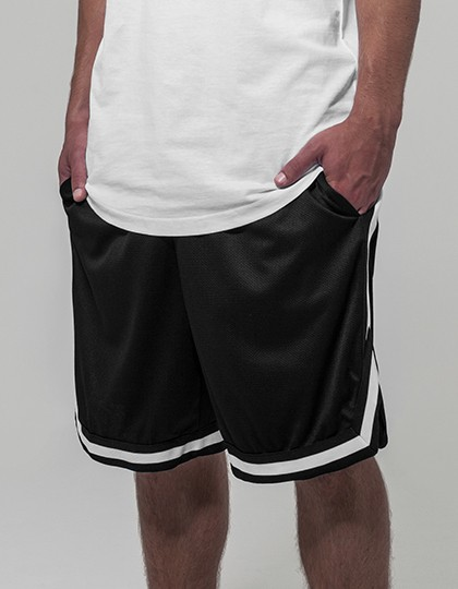 BYB Two Tone Mesh Shorts