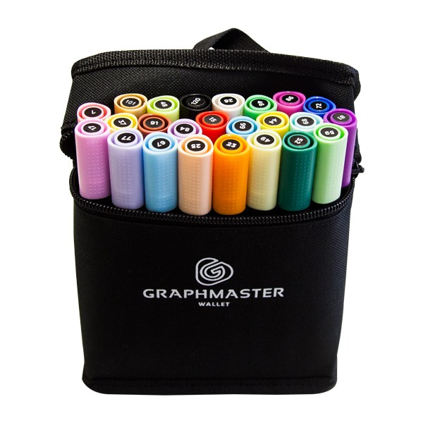 Graphmaster Twin Marker 24er Basic A Main Set