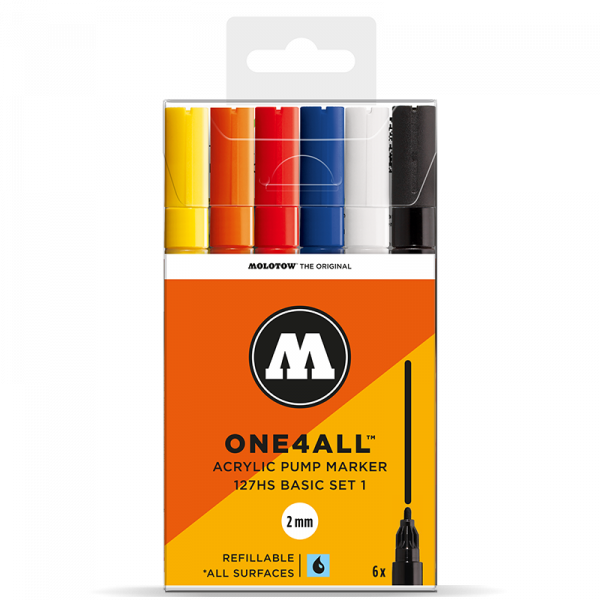 Molotow One4All 127 HS Marker 6er Set