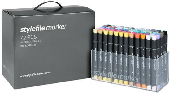 Stylefile Marker 72er Set
