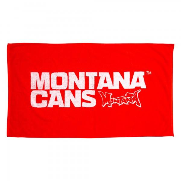 Montana Beach Towel Badetuch rot