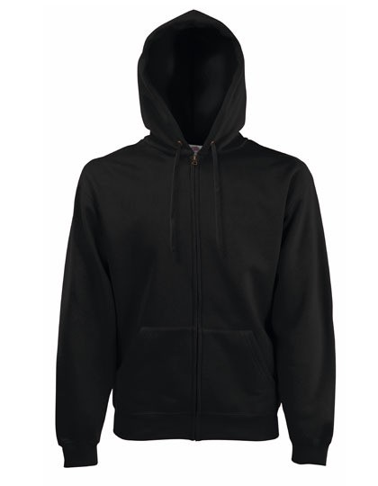 Fruit of the Loom Premium Zipper Black