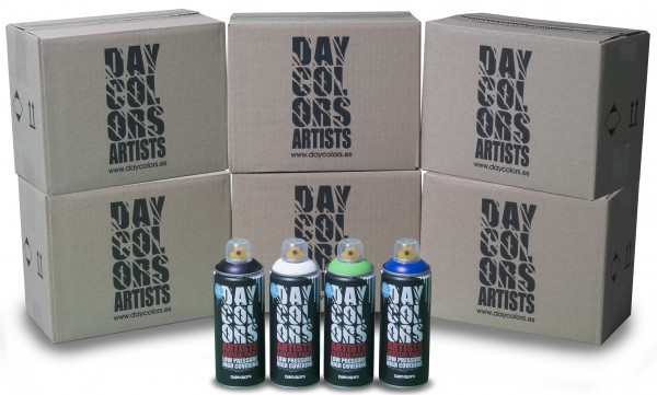 Daycolors Artists 48er Sparpack