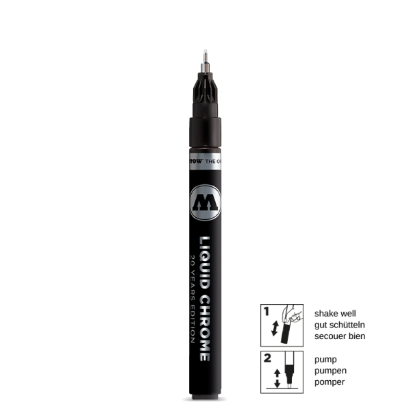 Molotow Liquid Chrome Marker 1mm