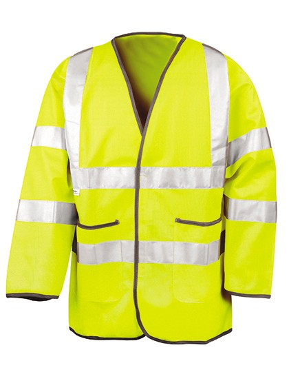Lightweight Safety Jacket Yellow
