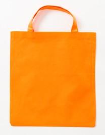 PP-Tragetasche kurze Henkel Orange