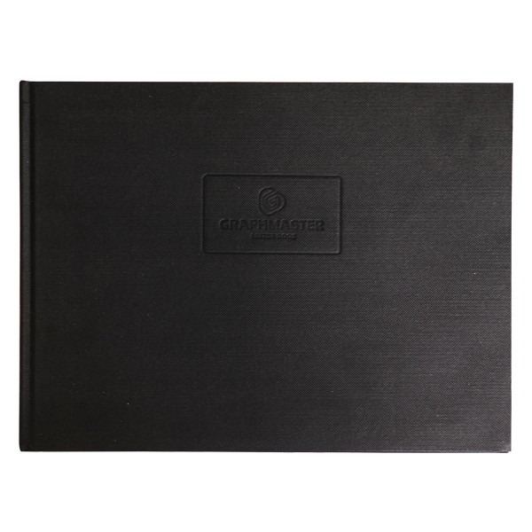 Graphmaster Blackbook Classic A4 quer
