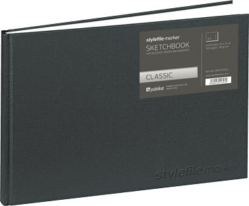 Stylefile Blackbook Classic A4 quer