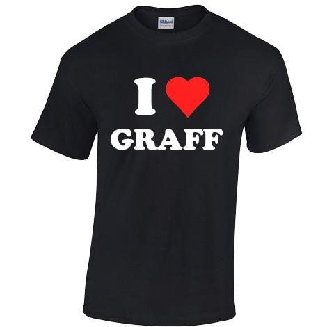 I Love Graff T-Shirt