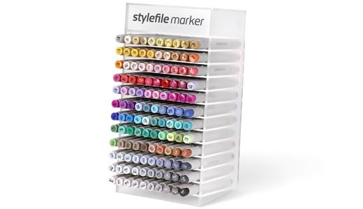 Stylefile Marker Brush 120er Full Acryl Display