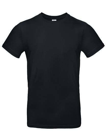 B&C #E190 T-Shirt Black