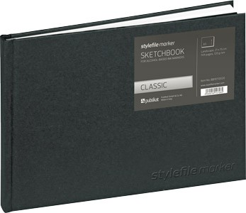 Stylefile Blackbook Classic A5 quer