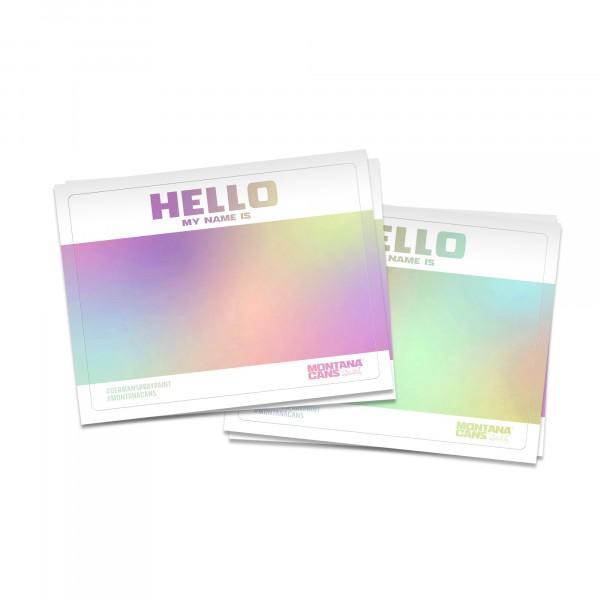 Montana Hello-Gram Sticker