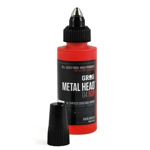 Grog Metal Head Marker 11 Farben