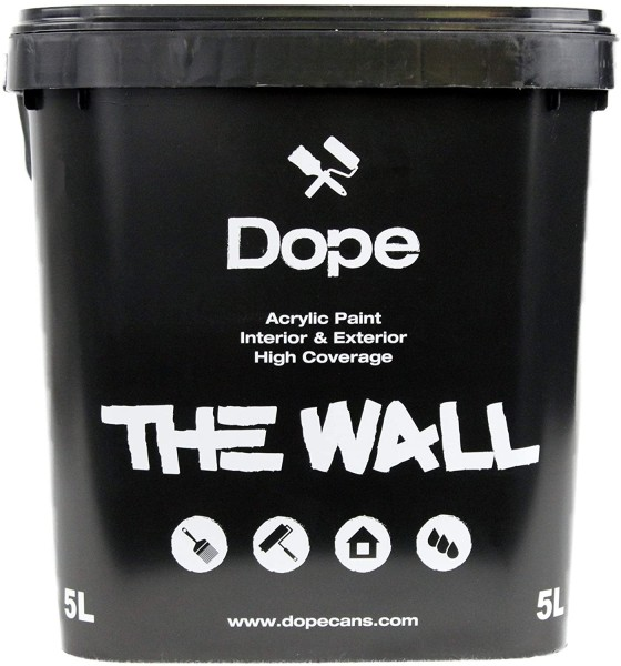 Dope the Wall Paint Black 5Liter