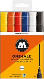 Molotow One4All 227 HS Marker 6er Set