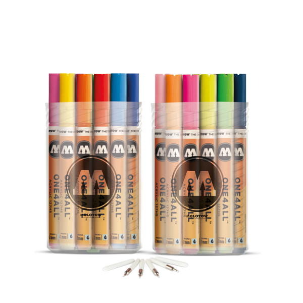 Molotow One4All 127 HS Marker Complete Set