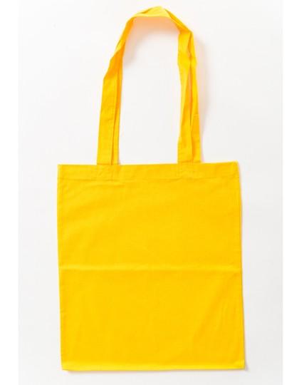 Baumwolltasche lange Henkel Yellow