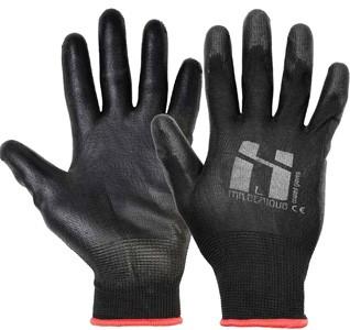 Mr. Serious Handschuhe schwarz