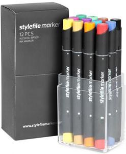 Stylefile Marker 12er Set