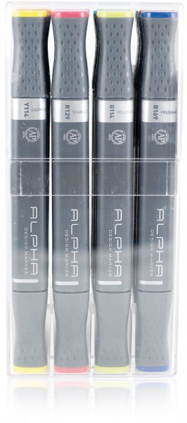 Alpha Design Marker 12er Set Main A