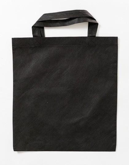 PP-Tragetasche kurze Henkel Black